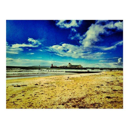 Bournemouth Coast Postcard
