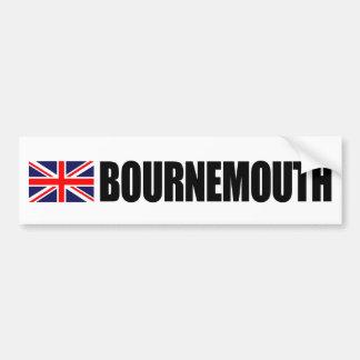 Bournemouth UK Flag Bumper Sticker