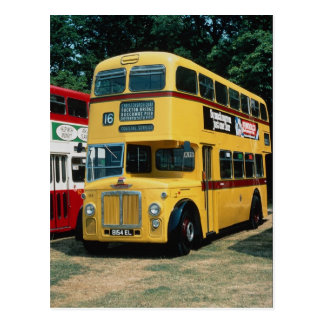 Bournemouth's 154 Leyland on an outing to Southamp Postcard
