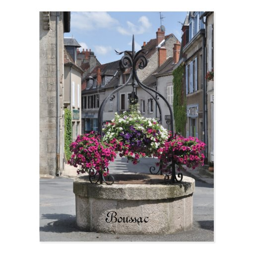 Boussac, Creuse, France postcard