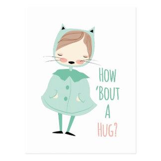 Bout Hug Postcard
