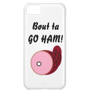 """Bout ta GO HAM!"" iphone case"