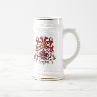 Boutillier Family Crest Mug