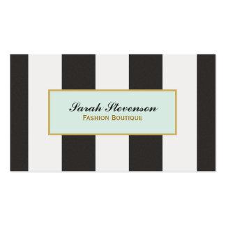 Boutique blanco y negro elegante de la moda de las
