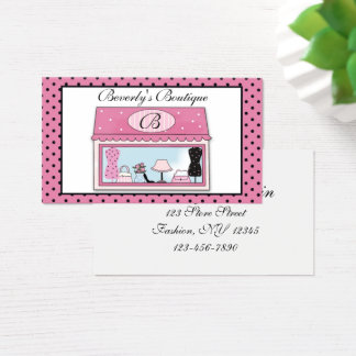 Boutique Business Card
