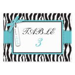 Boutique Chic Boy Table Card Flat Large Business Cards (Pack Of 100)