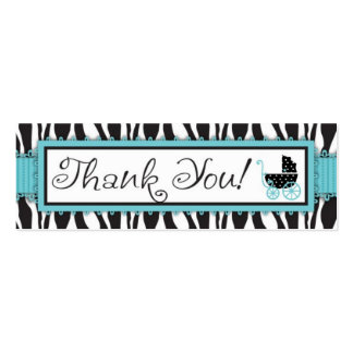 Boutique Chic Boy TY Skinny Gift Tag Double-Sided Mini Business Cards (Pack Of 20)