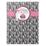 Boutique Chic Cupcake Business Notebook
