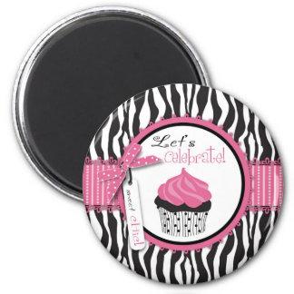 Boutique Chic Cupcakes Magnet