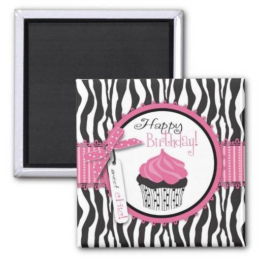 Boutique Chic Cupcakes Magnet B2