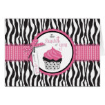 Boutique Chic Cupcakes TY Card