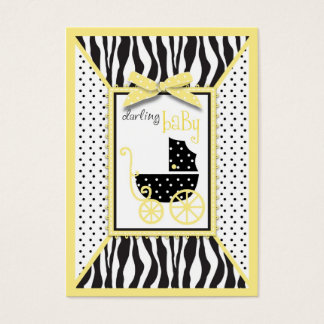 Boutique Chic Reminder Notecard Baby Business Card