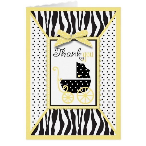Boutique Chic TY Card Yellow