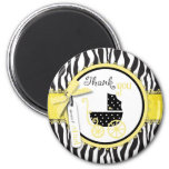 Boutique Chic TY Magnet Yellow