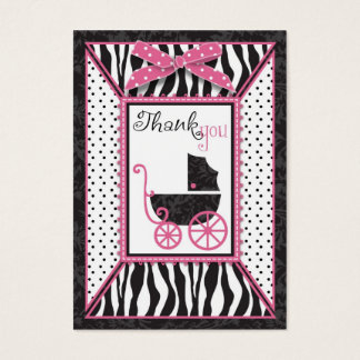 Boutique Chic TY Notecard Business Card