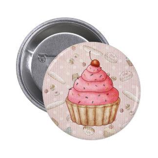 Boutique de la panadería - botón 2 pin redondo de 2 pulgadas