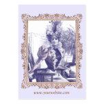 Boutique de la ropa vintage, diseñador de vestuari tarjeta de visita