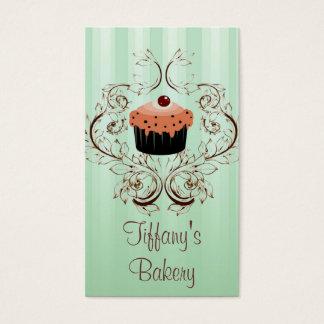 Boutique de lujo del negocio de la panadería del tarjeta de negocios
