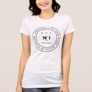 Boutique del número 1 de Nueva York Camiseta