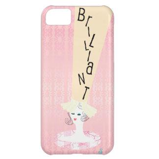 Boutique elegante brillante Hatstand lindo con 5s  Funda Para iPhone 5C