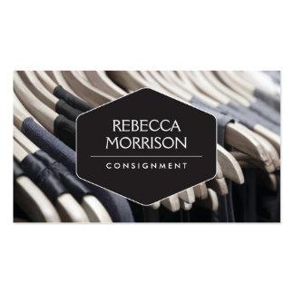 Boutique, envío, diseñador de moda, armario tarjetas de visita