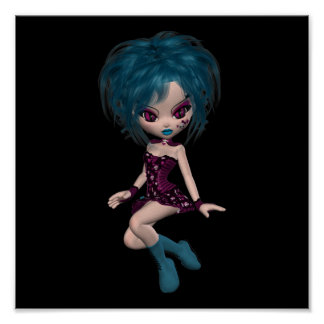 Boutique Gothique Mascot Goth Girl 9 Posters