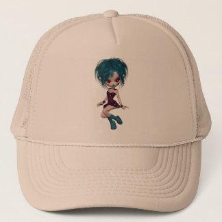 Boutique Gothique Mascot Goth Girl 9 Trucker Hat