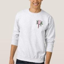 Boutonniere Rose Wedding Groomsmen Sweatshirt
