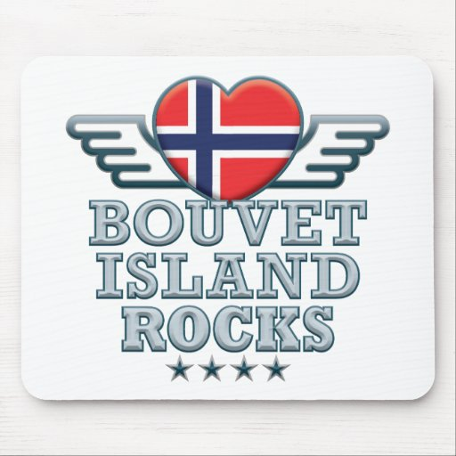 Bouvet Island Rocks v2 Mousepads