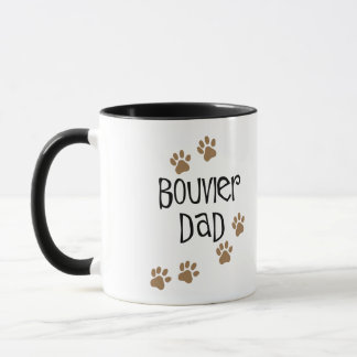 Bouvier Dad Mug