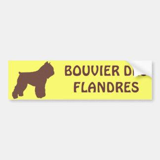 Bouvier des Flandres Bumper Sticker