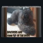 "Bouvier des Flandres Calendar<br><div class=""desc"">Bouvier des Flandres dog calendar</div>"