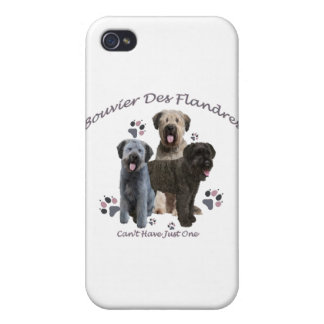 Bouvier Des Flandres Can't Have Just One iPhone 4/4S Case