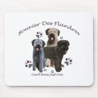 Bouvier Des Flandres Can't Have Just One Mousepads