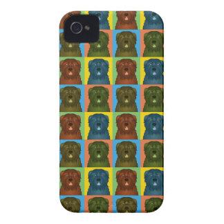 Bouvier des Flandres Cartoon Pop-Art Case-Mate iPhone 4 Case
