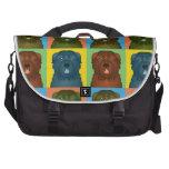 Bouvier des Flandres Cartoon Pop-Art Bag For Laptop