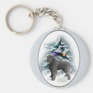 Bouvier des Flandres Christmas Gifts Keychain