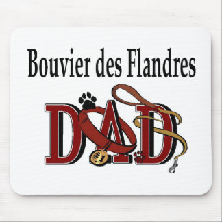 Bouvier des Flandres Dad Gifts Mouse Pad