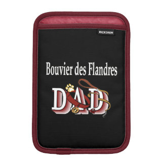 Bouvier des Flandres Dad iPad Mini Sleeve