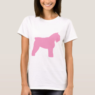 Bouvier des Flandres Dog (in pink) T-Shirt