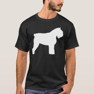 Bouvier des Flandres Dog (in white) T-Shirt