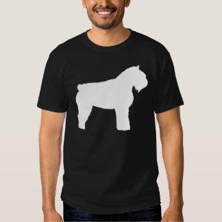 Bouvier des Flandres Dog (in white) Tee Shirt