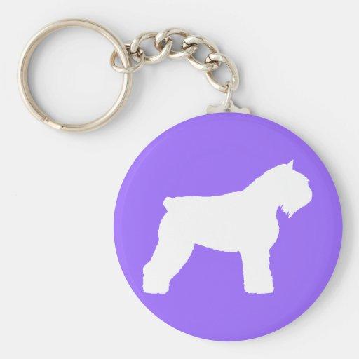 Bouvier des Flandres Dog Keychains