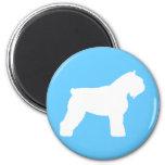 Bouvier des Flandres Dog Magnets