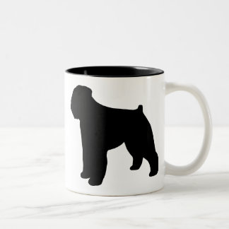Bouvier des Flandres Gear Two-Tone Coffee Mug