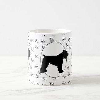 Bouvier des Flandres Hearts and Pawprints Coffee Mug