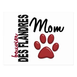 Bouvier Des Flandres Mom 2 Postcard