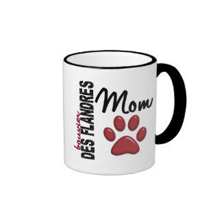 Bouvier Des Flandres Mom 2 Ringer Mug