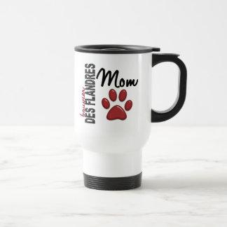 Bouvier Des Flandres Mom 2 Travel Mug