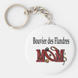 Bouvier des Flandres Mom Gifts Keychain